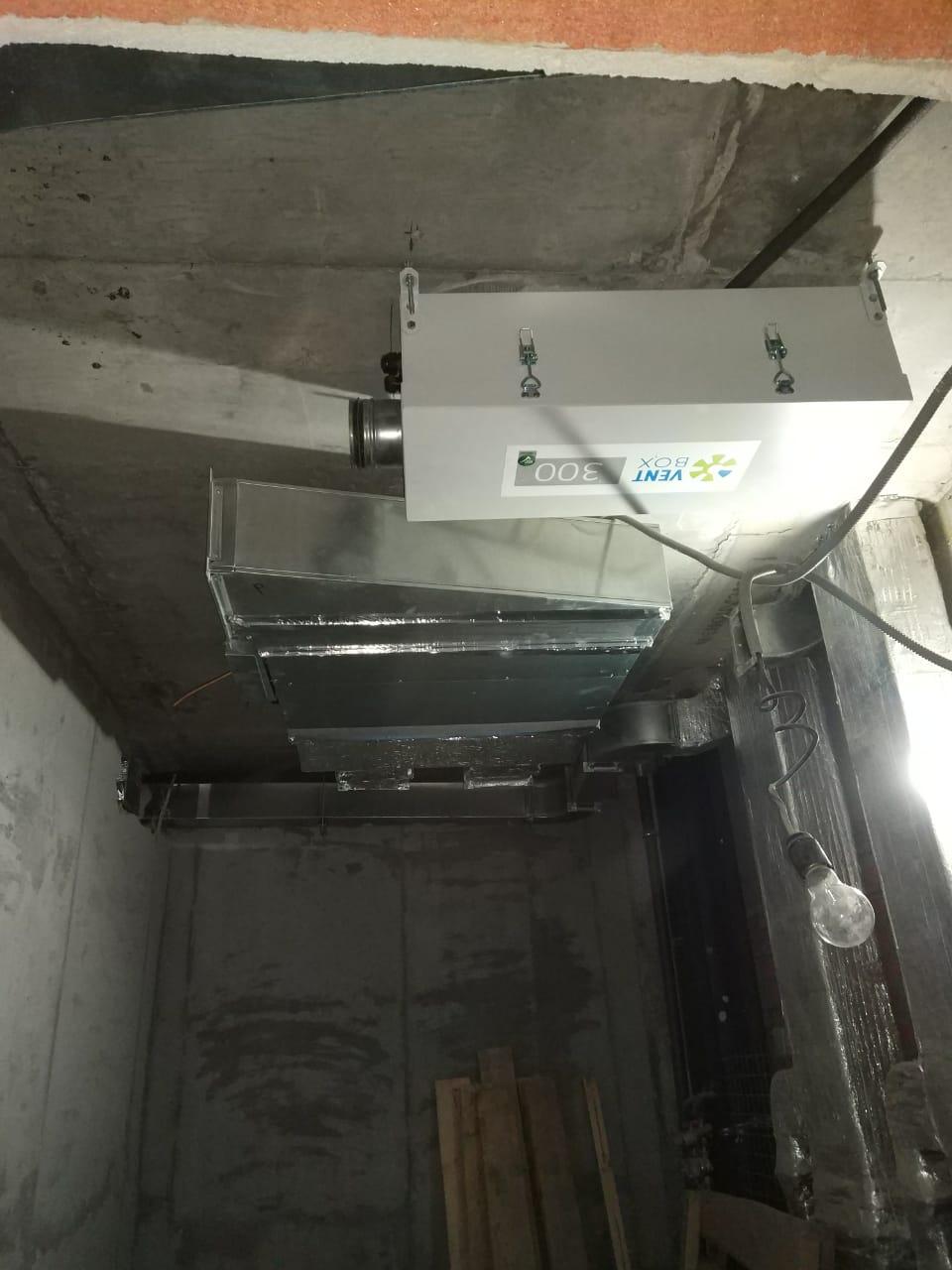 Приточные установки ВентБокс - 300 (VentBox - 300)